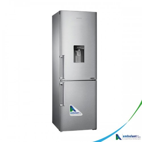 Réfrigérateur Combiné 321L SAMSUNG RB33J3700SA/EF - A+ Froid ventilé avec distributeur d'eau fraîche