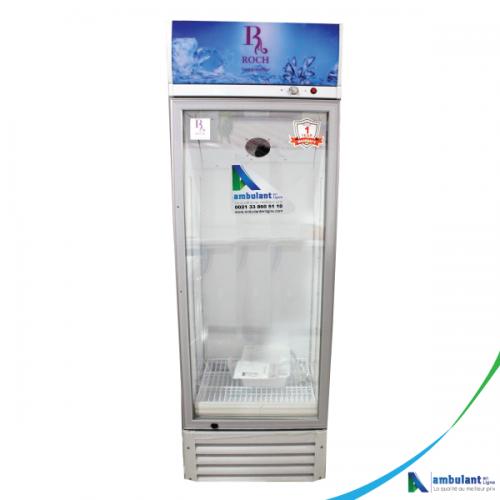 Réfrigérateur vertical Vitrine 420 Litres A+ ROCH LC-420