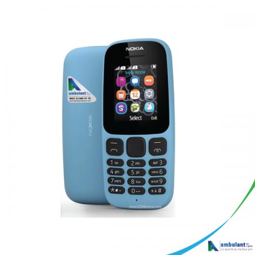 Téléphone NOKIA 105 Classique 1,5 pouce 4 Mo RAM