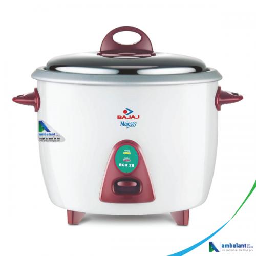 Cuiseur de riz électrique 2.8 litres Bajaj Majesty - RCX 28