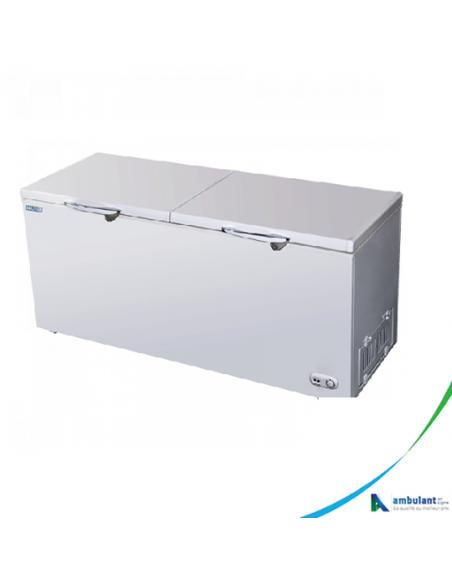 Congélateur Coffre 400L SOLSTAR  - Blanc