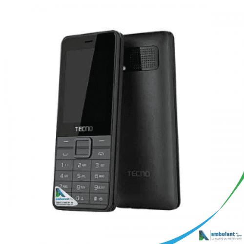 Téléphone TECNO T402 écran 2.4 pouces triple sim