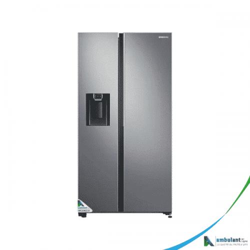 Réfrigérateur side by side 647L argenté SAMSUNG RS64R5111M9