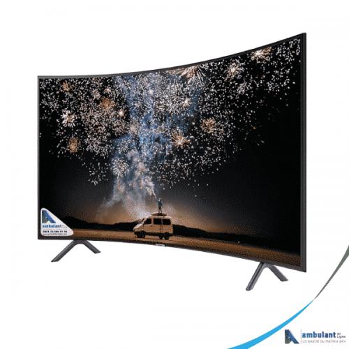Téléviseur 55 pouces incurvé smart 4k uhd tv smart SAMSUNG UA55RU7300K