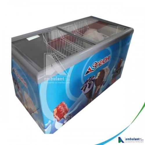 Congélateur horizontal vitrine 600L ASTECH FH500