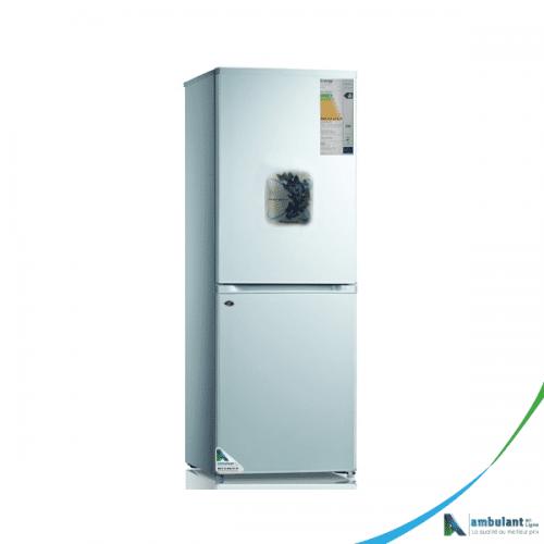 Réfrigérateur combiné 3 tiroirs silver WESTPOOL RFC/HM 400
