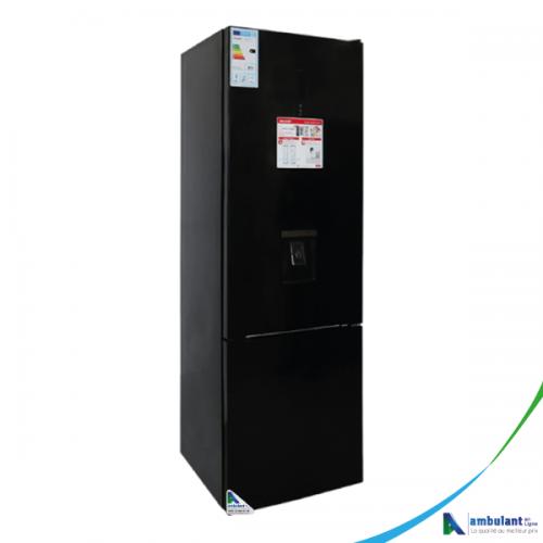 Réfrigérateur combiné 3 tiroirs 324L A+ noir SHARP SJ-BG415D-BK2