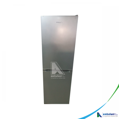 Réfrigérateur combiné 4 tiroirs no frost 313L A+ gris FINLUX GT353