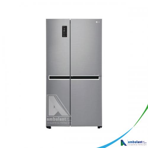 Réfrigérateur side by side 687L gris A+ LG GC 337 CVAL