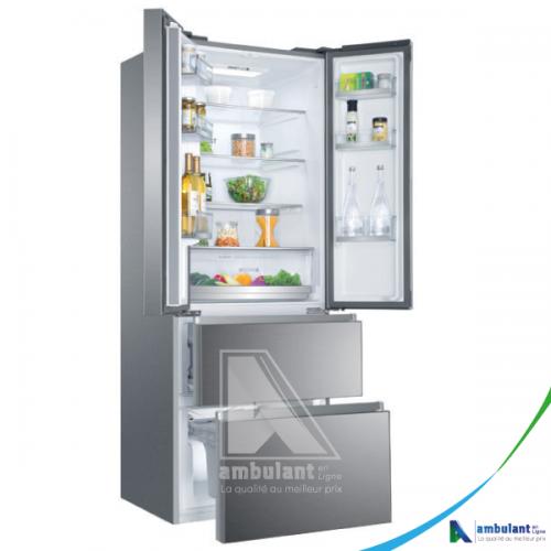 Réfrigérateur side by side multi portes 424L HAIER HB16FMAA