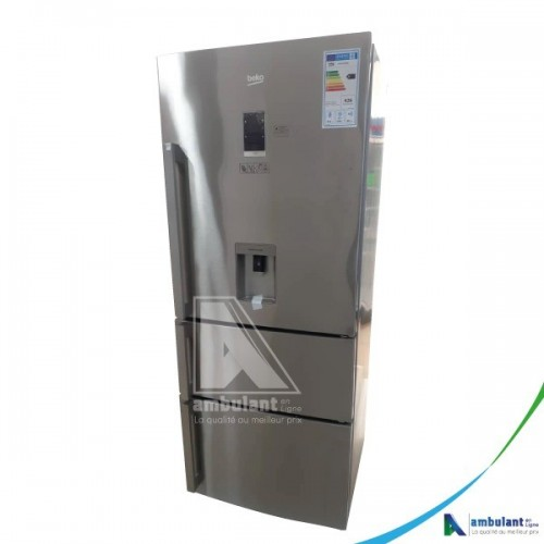 Réfrigérateur combiné multiportes 462 Litres BEKO CN151920DX