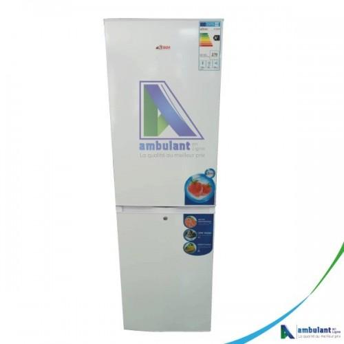 Réfrigérateur combiné ASTECH 4 tiroirs 247 litres FC282WS