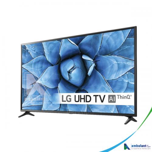 """Téléviseur SMART 4K 49"""" LG 49UN73 HDR Avec ThinQ AI"""
