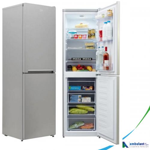 Réfrigérateur combiné 4 tiroirs 287L A+ BEKO  RCSE300K20S